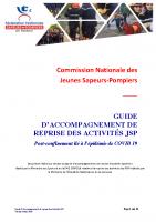 Guide de reprise des activités JSP Post Covid-19 – Mai 2020